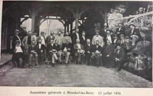Assemblée générale Mondorf les bains 23 juillet 1896