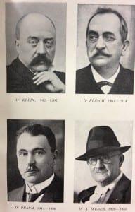 Membres de la SSM 1